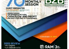 BE OUR GUEST AT THE 70TH SESSION OF B2B NIGERIA